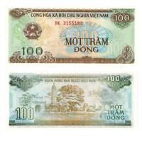 Pick 105a Vietnam 100 Dong 1991  Unc. / 165042vvv