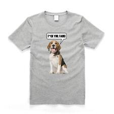 Anti Puppy Testing Anti Fauci - Beagle Dog Protest T Shirt Grey