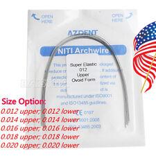 AZDENT Dental Orthodontic Super Elastic Niti Round Arch Wire