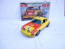 Schuco  Ralley Yellow Porsche 911 R Coupe Rally  Car 1:16 Nice Condition In Box