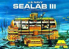 Aurora US Navy SEALAB III Model Kit Replica Sticker, Magnet