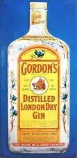 More details for gordon's gin large steel sign (hi 5025)