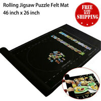 Jigsaw Puzzle Storage Mat Roll Up Puzzle Felt Storage Pad Up To 1500 Pieces - US