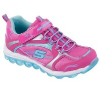 NEW! Skechers Toddler Girl's Skech Air Athletic Shoes Pink/Blue #80220N* 112J dr
