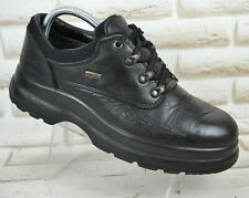 VIKING Gore-Tex Mens Leather Outdoor Hiking Low Boots Waterproof Size 8 UK 42 EU