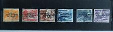 Suisse - 6 timbres oblitérés Série timbre de Service YT 316 à 326