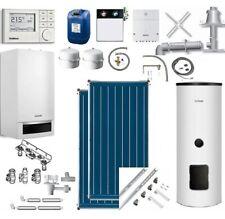 Buderus Gasbrennwert GB172 24 kW Abgassystem RC310 Regelung Solaranlage 4,18qm