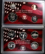 1999 U.S. SILVER PROOF SET IN ORIG BOX/COA Lot 309