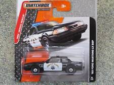 Matchbox 2014 #095/120 1993 FORD MUSTANG LX SSP Police MBX Heroic Rescue Case J