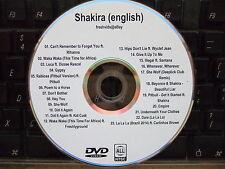 SHAKIRA (ENGILSH) MUSIC VIDEO DVD DARE LA LA LA EMPIRE CANT REMEMBER TO FORGET U