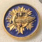 Masonic Shriners Al Kader Lapel Pin 1995 Potentate Cobalt Blue Gold Portland