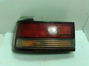 Driver Left Tail Light Sedan Outer Fits 88-89 MAZDA 626 50077
