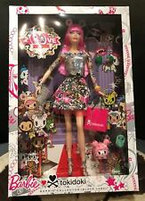 2014 TOKIDOKI Barbie Doll 10th Anniversary Mattel Gift Convention Pink Hair NRFB