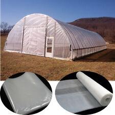 2x8M Garden Grow Polytunnel Cover Clear Heavy Duty Polythene Plastic Sheeting600