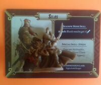 Silas massive darkness boardgame spare part figure black plague crossover