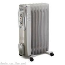 Bionaire BOH1503-IUK 1500 W 1.5kW Oil Filled Portable Heater Radiator