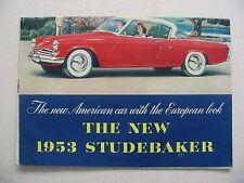 1953 Studebaker Brochure