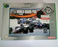 F1 World Grand Prix - Players Choice - Boxed - Nintendo 64 - N64 - Complete