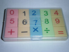 15 pc Number Math Eraser Set Pefect for learning counting, adding. Christmas
