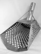Large 2mm Stainless Steel Beach Sand Scoop Metal Detector Hunting Tool Showel