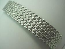 "Stainless Mens Speidel Vintage Watch Band 100% Expansion 17.5mm-22mm 11/16""-7/8"""