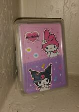 My Melody Rabbit Playing Cards Gift Game Sanrio anime Japan kitty Solitaire NEW