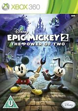 Disney Epic Mickey 2 - The Power of Two  ~ Xbox 360 Game for Kids UK FAST Post