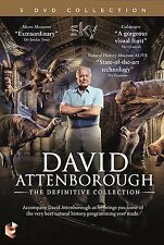 DAVID ATTENBOROUGH THE DEFINITIVE DOCUMENTARIES COLLECTION NEW 5 DVD BOXSET R4