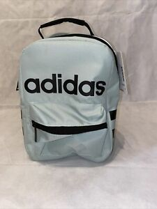 Adidas Santiago Unisex Insulated Lunch Bag - Greentint / Black