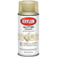 Glitter Aerosol Spray 4oz-Glistening Gold