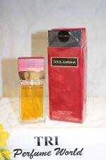 Dolce & Gabbana Parfum de Toiltte Women Spray 1.7 fl.oz RED BOX Vintage Original