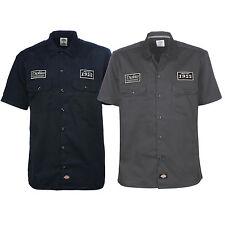 Dickies - North Irwin 05200268  Schwarz Charcoal Hemd Arbeitshemd Freizeithemd