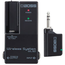 Boss Wl-50 Wireless System Transmitter Receiver Guitar