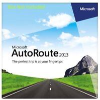 Microsoft Autoroute 2013 Europe - 2 PC's