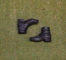 Dragon 1/6 Escala Segunda Guerra Mundial Alemán-flojo-Botas Negras Cortas (plástico)