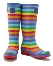 Scarpe da donna multicolori zeppi gomma