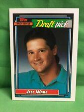 JEFF WARE, 1992 Topps Major League Draft Pick, card #414, Old Dominion Univ