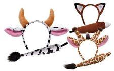 Ailes, queues, oreilles et nez multicolore pour déguisements et costumes