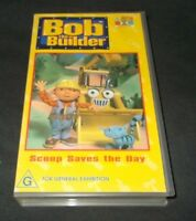 BOB THE BUILDER SCOOP SAVES THE DAY VHS PAL