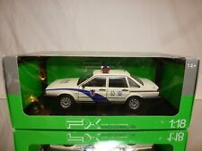 WELLY VW VOLKSWAGEN SANTANA - CHINA POLICE - 1:18 VERY RARE - EXCELLENT IN BOX