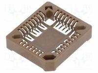 Sockel: PLCC Phosphorbronze PIN: 32 verzinnt 1A  PLCC Sockel