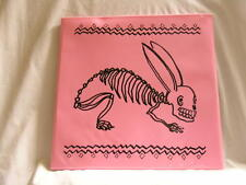 THE BUNNY BRAINS Bunnybrains Matador LP with pink plastic sleeve Dan Seward