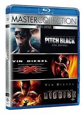 Blu Ray Vin Diesel Master Collection (3 DVD) Riddick/xxx Vien Diesel/Pitch Black