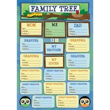 KAREN FOSTER DESIGN FAMILY TREE ANCESTRY HERITAGE CARDSTOCK SCRAPBOOK STICKERS
