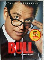 Bull Season 3 ( DVD 5 Disc Set ) NEW & SEALED FREE FIRST CLASS SHIPPING