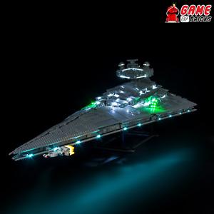 Game of Bricks LED Light Kit for Imperial Star Destroyer 75252 (Remote Version)