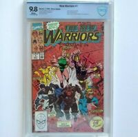 NEW WARRIORS # 1 CBCS 9.8 ~ White Pages ~ just like CGC ~ Origin of New Warriors