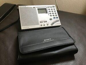 Sony ICF-SW7600GR FM Stereo/SW/MW/LW Receiver Perfect Working Order