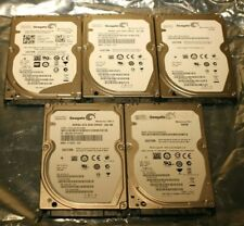 "Seagate 2.5"" hard drives - 320GB - USED (lot of 5)"