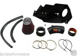 K&N 57i GEN II INDUCTION KIT FOR BMW E36 323, 325, 328 1991 - 2000
